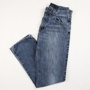Calvin Klein relaxed straight fit jeans